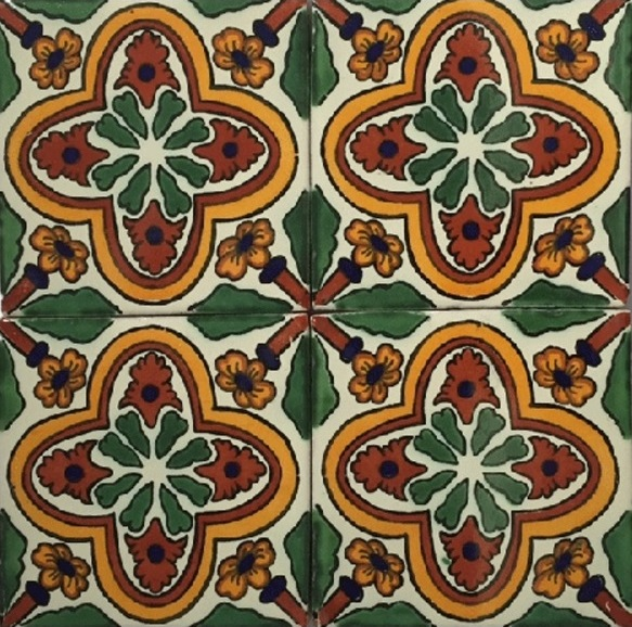 GREEN-GOLD GLOSS TALAVERA