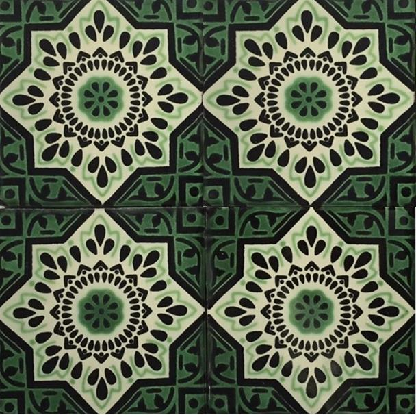 GREEN-CREAM GLOSS TALAVERA