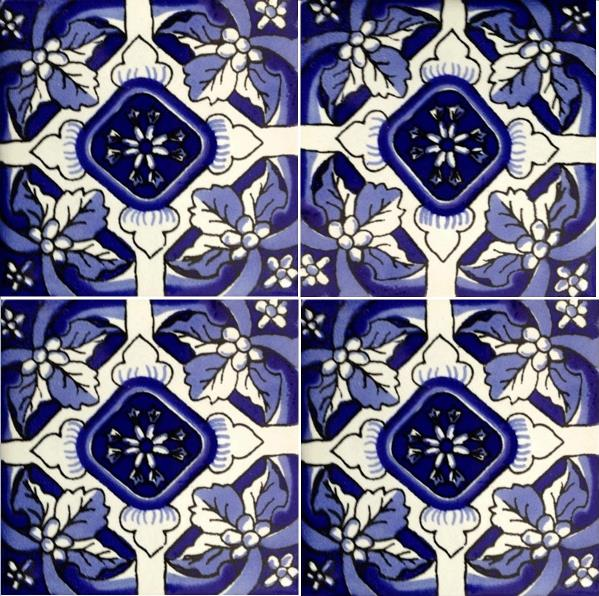 BLUE-CREAM GLOSS TALAVERA