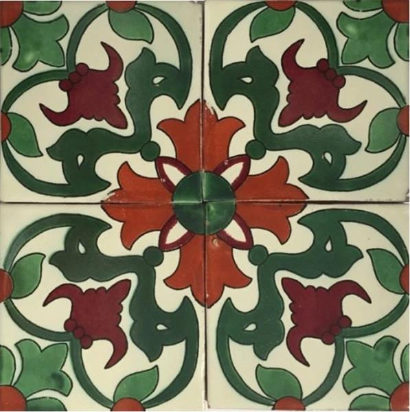 GREEN-RED GLOSS TALAVERA