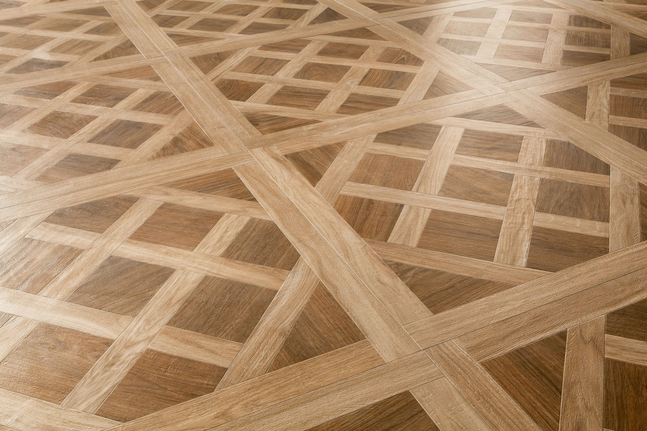 LIGHT-OAK DECOR MATT PARQUETRY