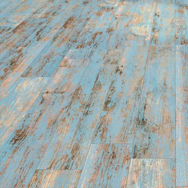 COBALT MATT TIMBER DISTRESSED