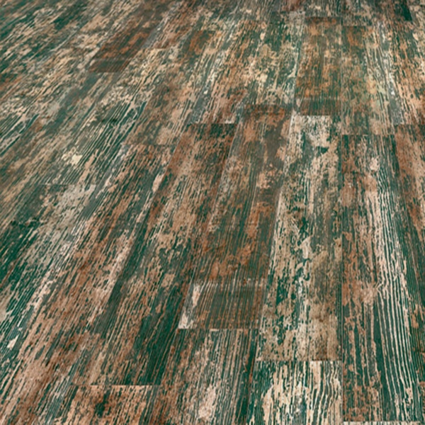 CELADON-GREEN MATT TIMBER DISTRESSED