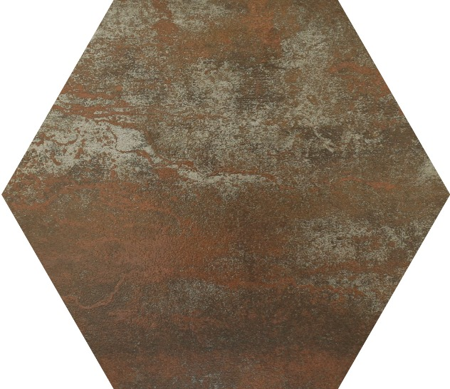 COPPER MATT HEX  FERRO