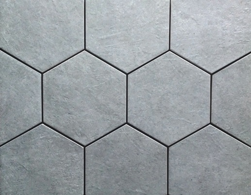 CONCRETE MATT HEXAGONAL