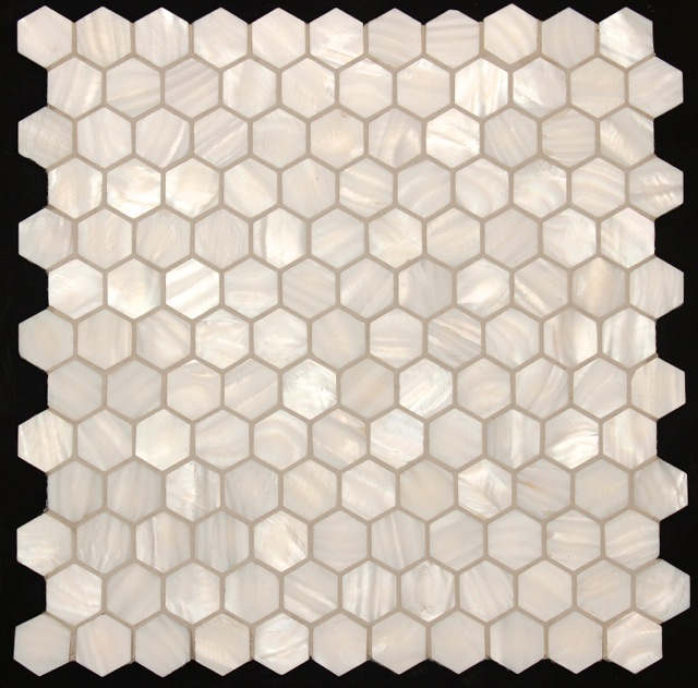 CHALK GLOSS HEXAGON CONCHA
