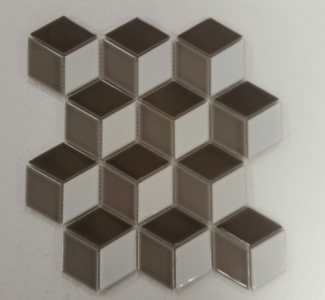 BROWN-MIX GLOSS 3D-CUBE