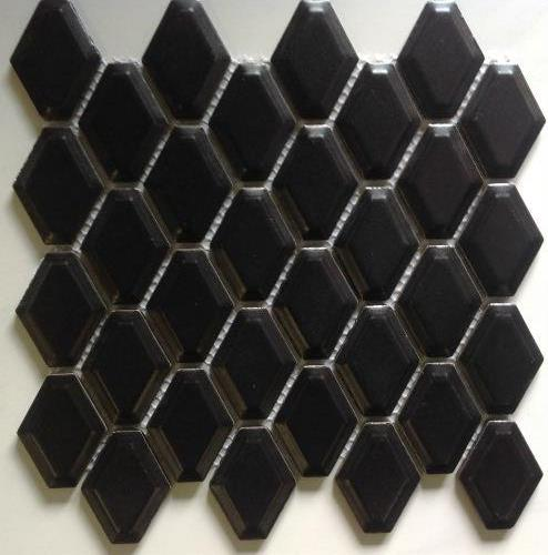 BLACK MATT EXTERNAL CUSHIONHEX
