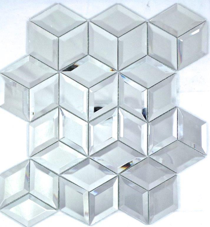MIRROR GLOSS CUBE DIAMOND