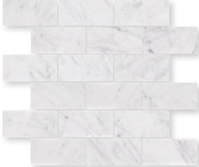 ICE CARRARA MARBLE BRICK PATTERN KENSINGTON