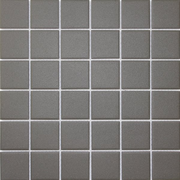 CHARCOAL SQUARE 48MM VITRIFIED MOSAIC