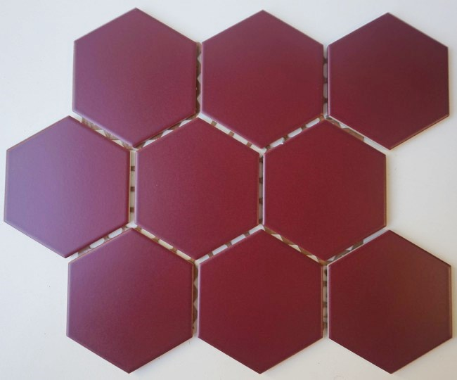 MERLOT HEXAGONAL MATT SPECTRUM