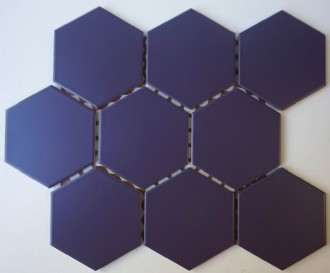 EGGPLANT HEXAGONAL MATT SPECTRUM