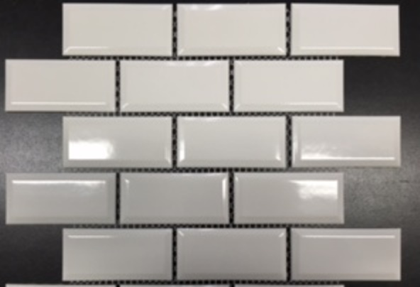 BIANCO GLOSS BEVEL EDGE BRICKBOND