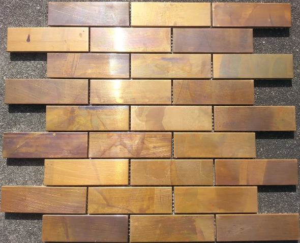 COPPER MIX INTERLOCKING BRICK AMAZING