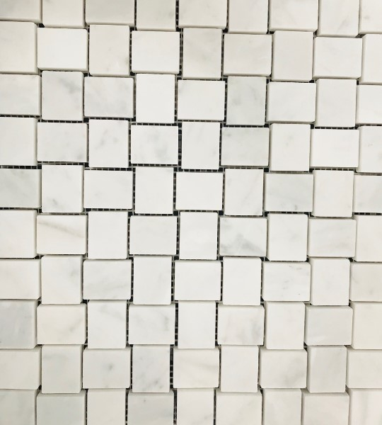 CARRARA HONED BASKETWEAVE
