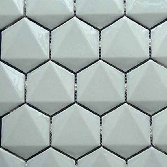ASH GLOSS 3D HEXAGON TAZA