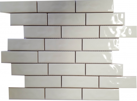 ALABASTER GLOSS SUBWAY RIPPLED BRICKBOND