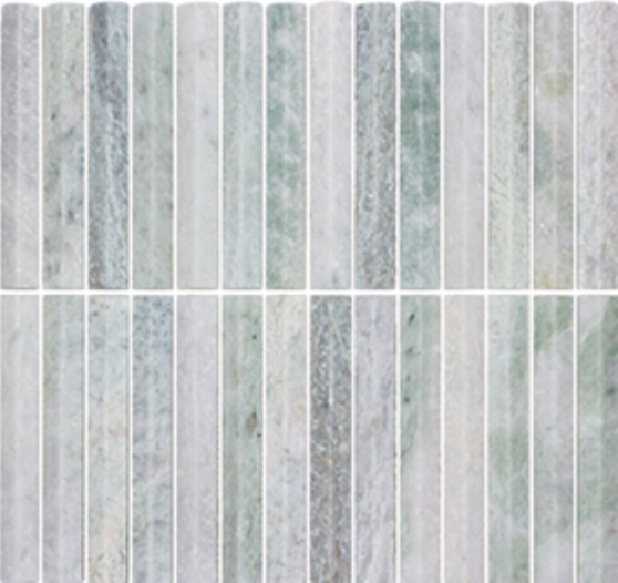 MINT HONED SUMMIT STICK FINGER MARBLE MOSAIC