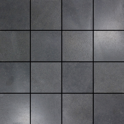 BASALT HONED SQUARE MARBLE MOSAIC