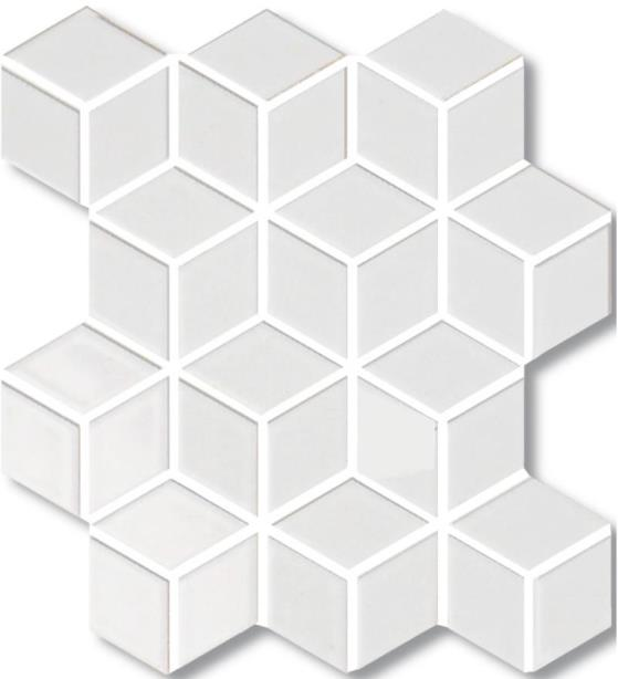 BLANCO GLOSS 3D-CUBE VILLAGE