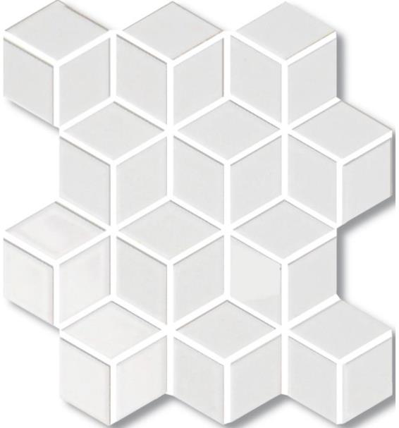 BLANCO MATT 3D-CUBE VILLAGE