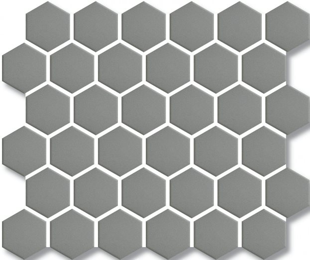 DOVE-GREY GLOSS HEX VILLAGE