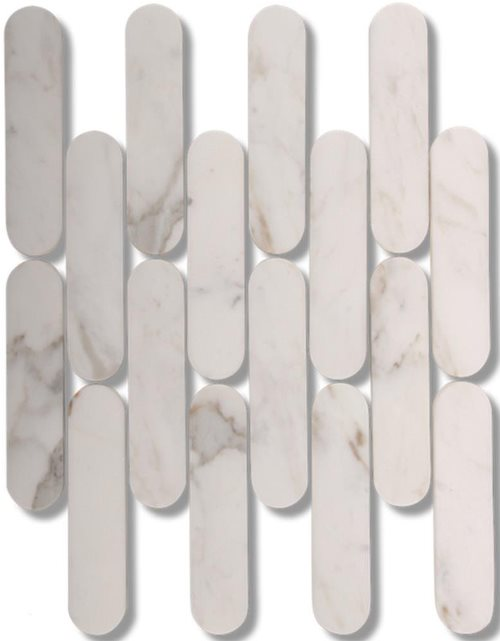 CALACATTA GOLD HONED MARBLE BATONS