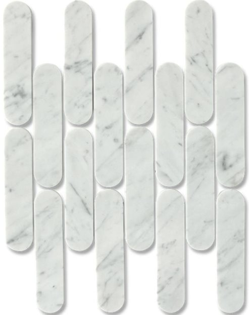 CARRARA C HONED MARBLE BATONS
