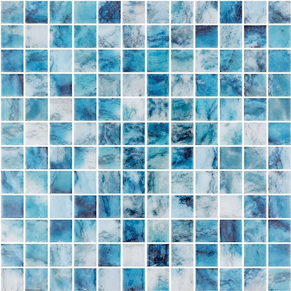 BLUE-MIX GLASS MOASIC RIVIERA