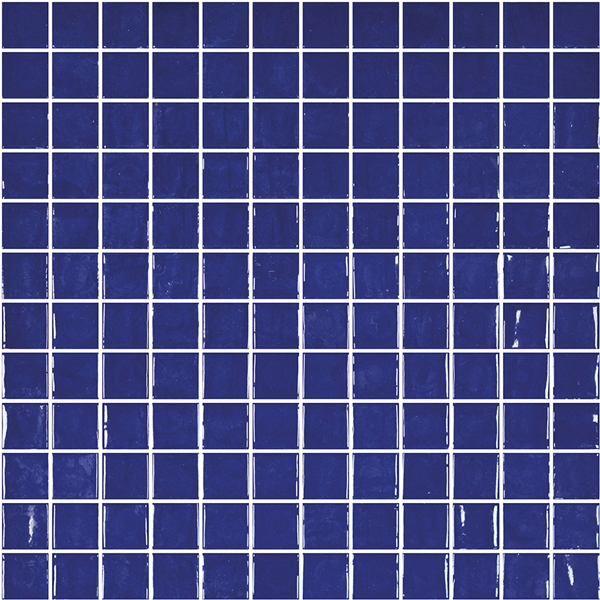 ROYAL-BLUE GLASS MOSAIC RIVIERA