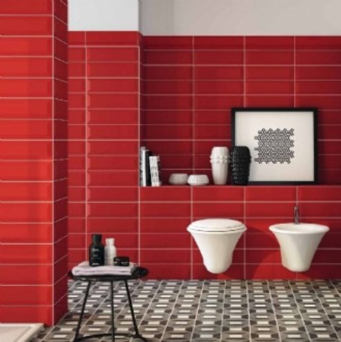 ROSSO GLOSS BEVELLED