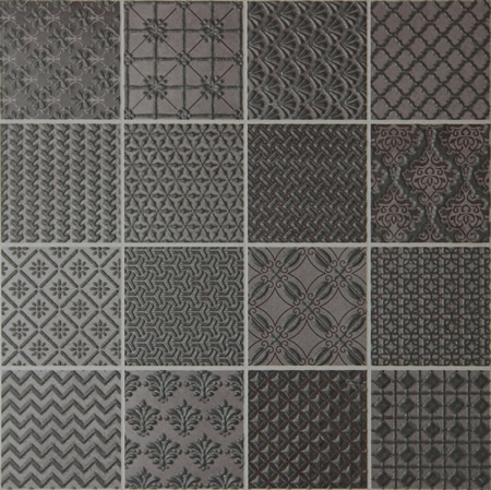 ASH GLASS QUILTED-PATCHWORK