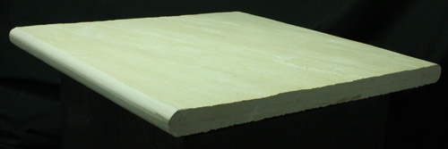 SANDSTONE NATURAL ROUND-EDGE DOUBLE BULLNOSE HIMALAYAN