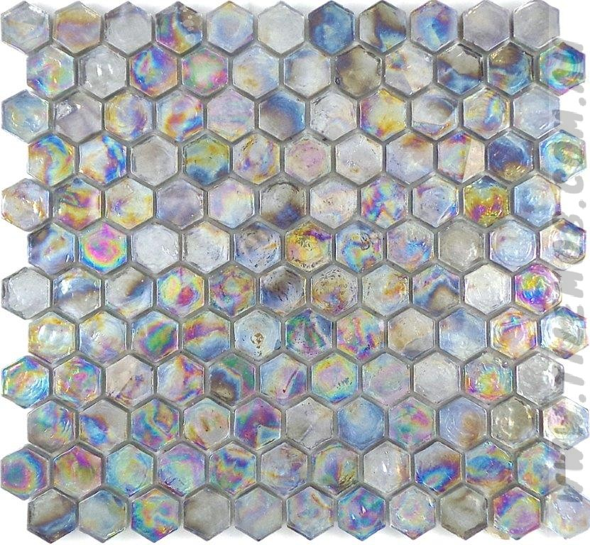 AZURE GLASS HEXAGON