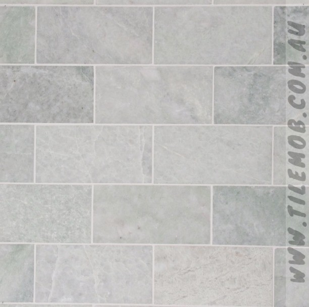 MING-GREEN HONED SUBWAY MARBLE