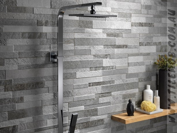 BLUESTONE LOOK FLAMED STONEWALL - 150x610mm | The Tile Mob